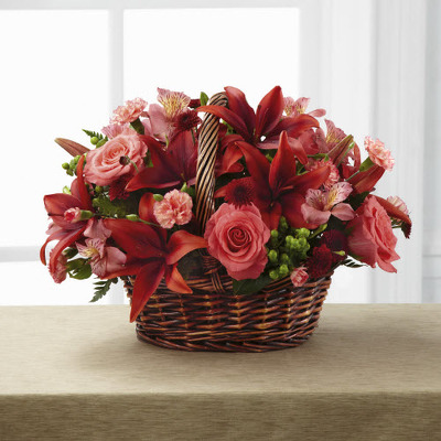 Basket E106 from Fabbrini's Flowers in Hoffman Estates, IL
