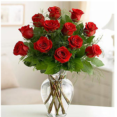Classic Red Dozen Roses R801 from Fabbrini's Flowers in Hoffman Estates, IL