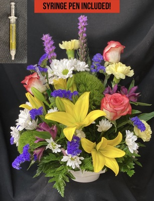 ND100 A Shot of Appreciation from Fabbrini's Flowers in Hoffman Estates, IL