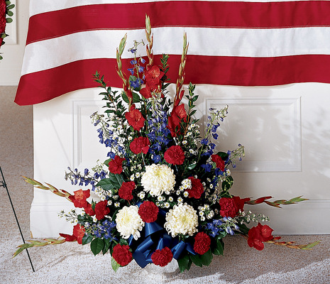 For the Patriot S122 from Fabbrini's Flowers in Hoffman Estates, IL