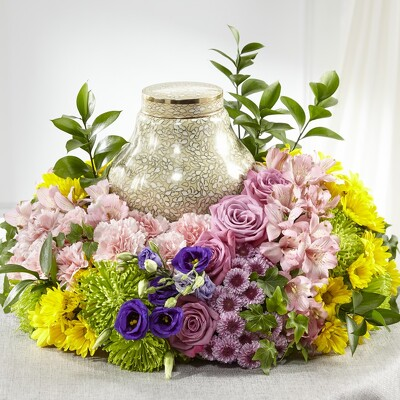 S175 Urn of Spring from Fabbrini's Flowers in Hoffman Estates, IL