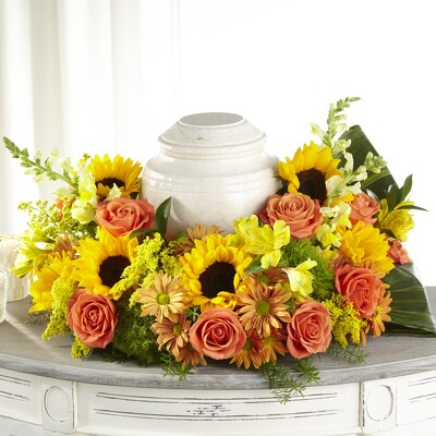 S178 Urn of Autumn from Fabbrini's Flowers in Hoffman Estates, IL