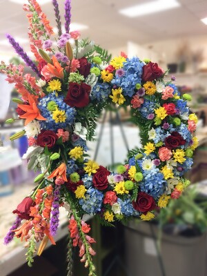 S215 Love lives on  from Fabbrini's Flowers in Hoffman Estates, IL