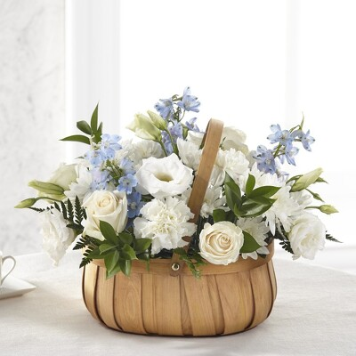 S246 Basket of Blue from Fabbrini's Flowers in Hoffman Estates, IL