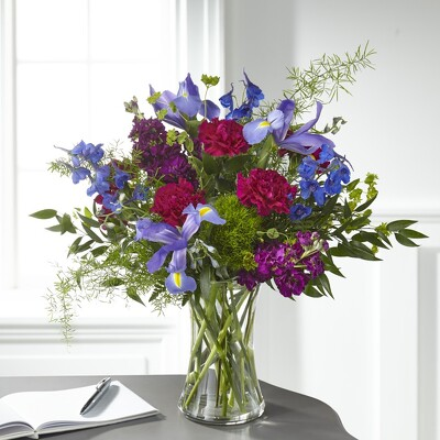 S254 Vase of Wildflowers from Fabbrini's Flowers in Hoffman Estates, IL