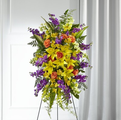 S159 Easel of Summer from Fabbrini's Flowers in Hoffman Estates, IL
