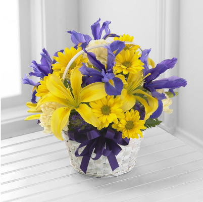 COLORFUL BASKET ARRANGEMENT E111