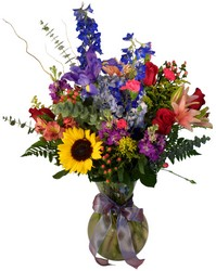 Vase arrangement V119 from Fabbrini's Flowers in Hoffman Estates, IL